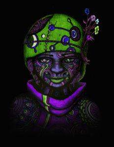 The Awakening - 3 of 9 - indusmind-nft4art artist