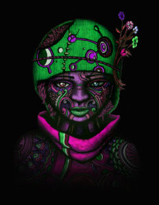 The Awakening - 4 of 9 - indusmind-nft4art artist