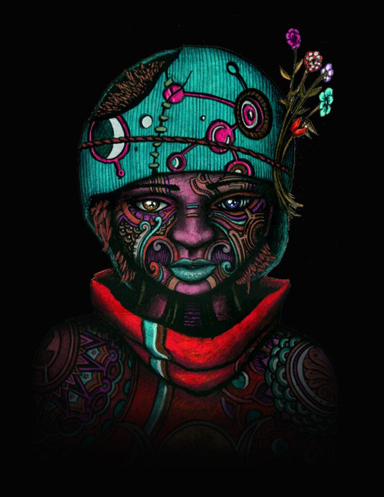 The Awakening - 5 of 9 - indusmind-nft4art artist