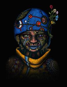 The Awakening - 2 of 9 - indusmind-nft4art artist