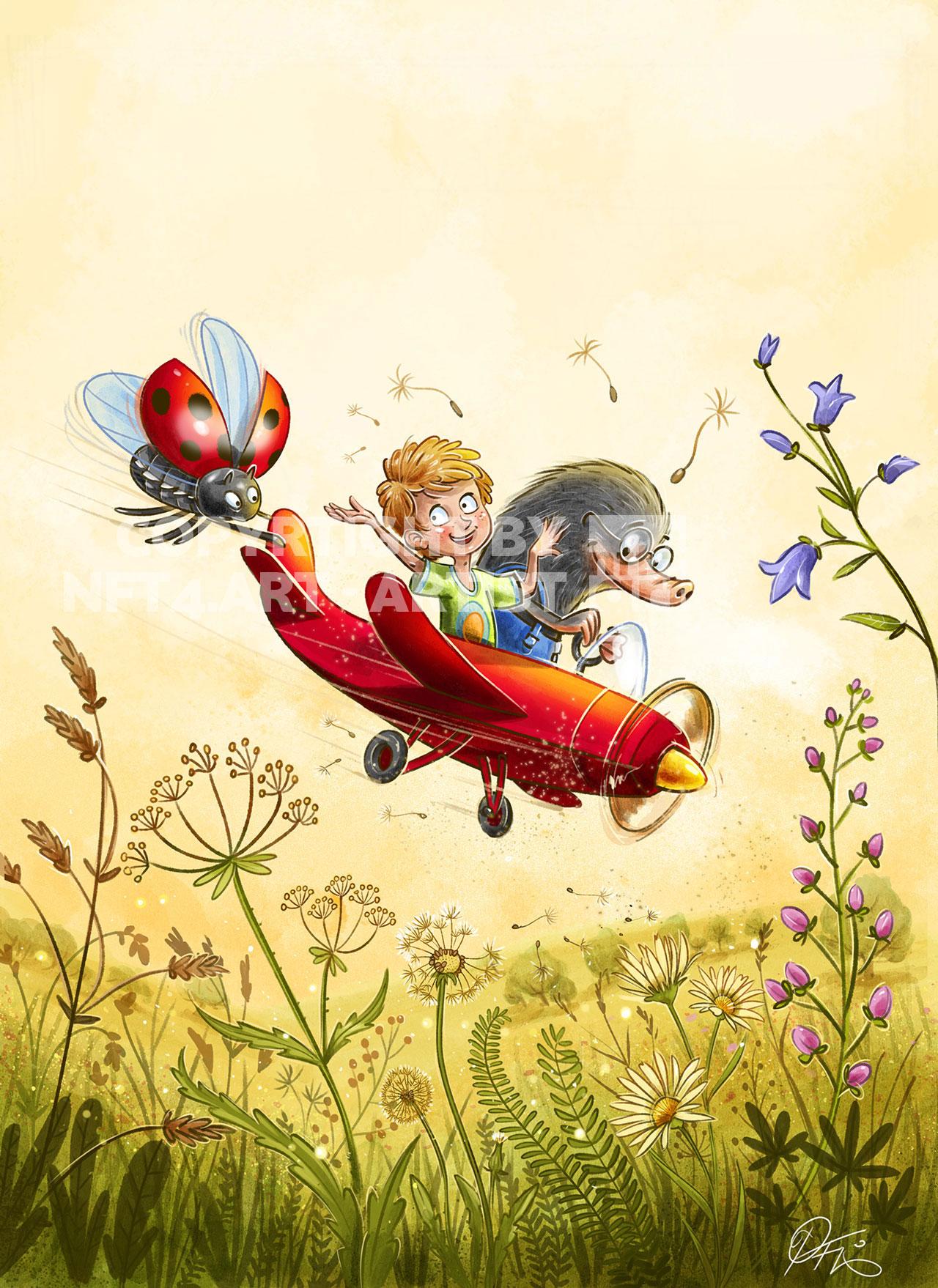 Frühlingsflieger / Springplane