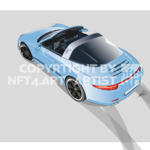 911 Targa Illustration